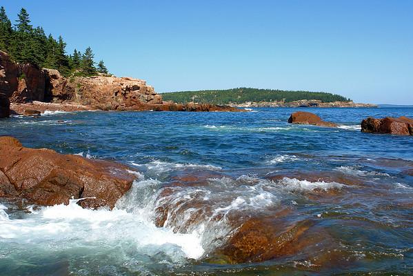 By Thunder Hole, Acadia Nat'l Park, Maine